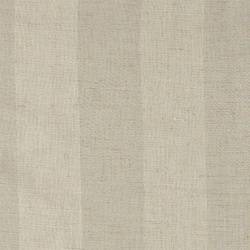 Polyester/linen nature stripe