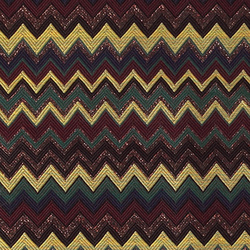 Woven jacquard with zig zag pattern