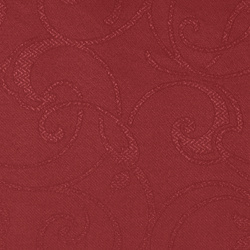 Jacquard red paisley pattern