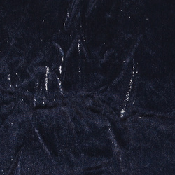 Woven velvet midnight blue w shiny effec