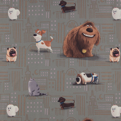 Cotton dark grey The Secret Life of Pets