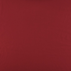 Plain cotton deep red