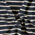 Isoli navy m hvit stripe denim look
