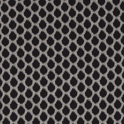 Knit jacquard grey melange w brushed dot
