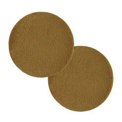 Shank button velour 45mm lightbrown 2pcs