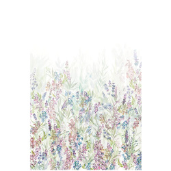 Digitalprint Blomster mark 150x225cm