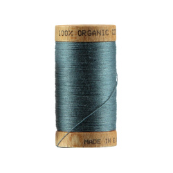 Sewingthread orgarnic cotton blue 100m