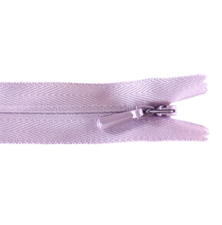 YKK zip 5mm invisible coil light purple
