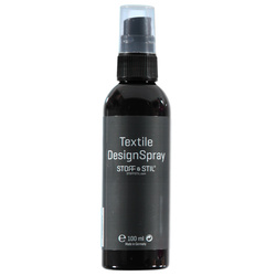 Textilfärg Spray svart 100ml
